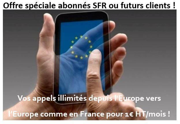 roaming SFR,téléphonie internationale,abonnement télécom,abonnement téléphone mobile